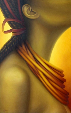 Legami, oil on canvas